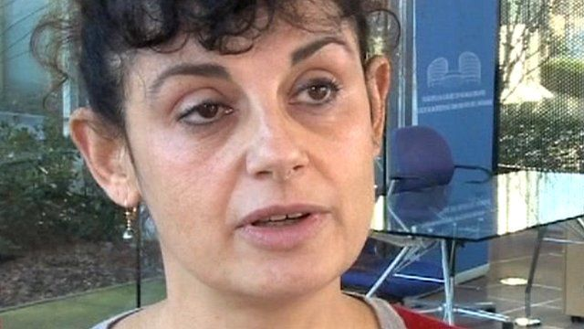 Spokeswoman for the European Court, Clare Ovey