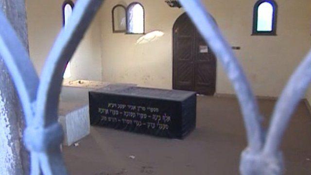 Tomb of a Moroccan rabbi