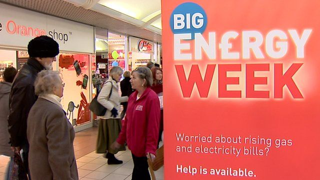 Consumers receive advice during Big Energy Week