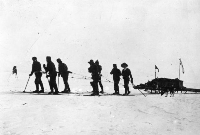 Scott's Antarctic expedition, 1912