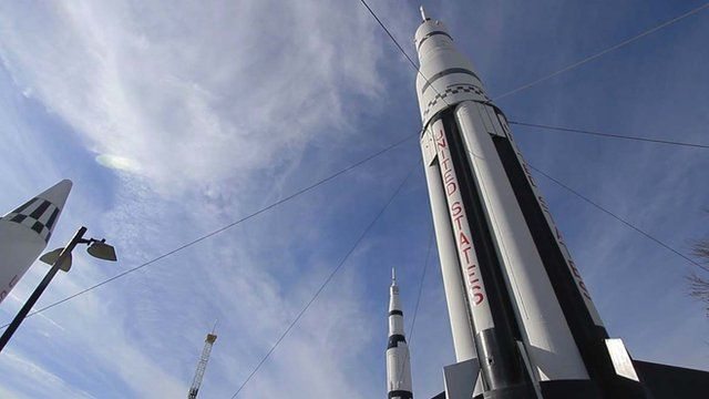 Rocket in Huntsville, Alabama