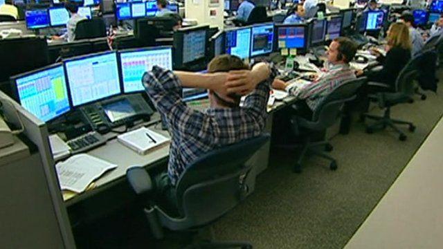 Trading room, Goldman Sachs