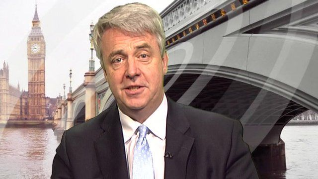 The Health Secretary, Andrew Lansley