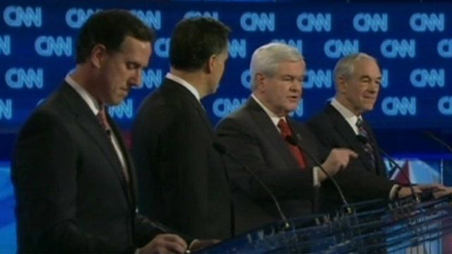 Four Republican candidates