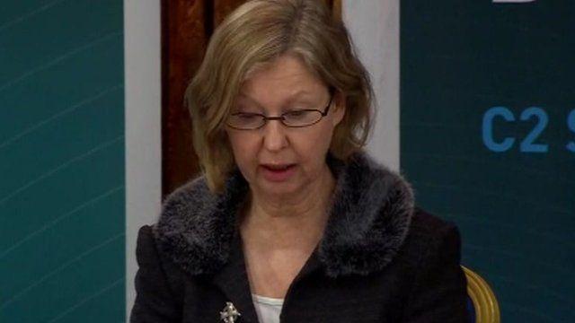 Geraldine Ferguson mother of Patrick Azimkar