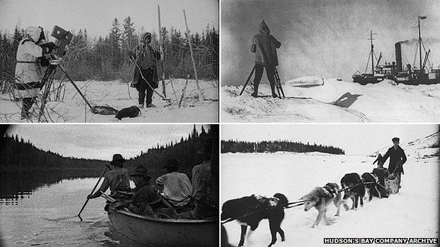 Images from the Hudson Bay Company Archives film