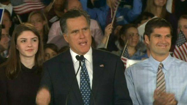 Mitt Romney addresses supporters in South Carolina