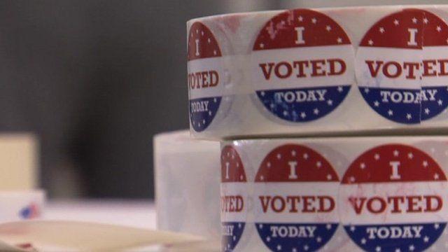 South Carolina voting stickers