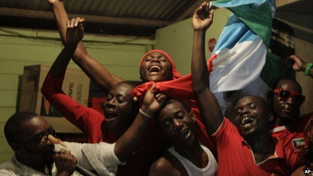 Fans in Equatorial Guinea