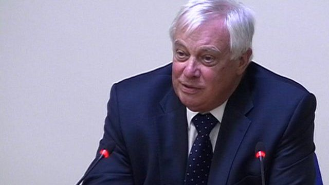 BBC Trust Chairman Chris Patten