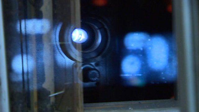 A film camera