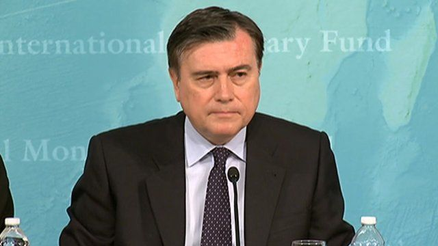 Jose Vinals, IMF