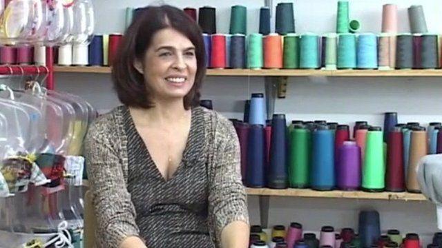 Jacqueline De Biase in her office