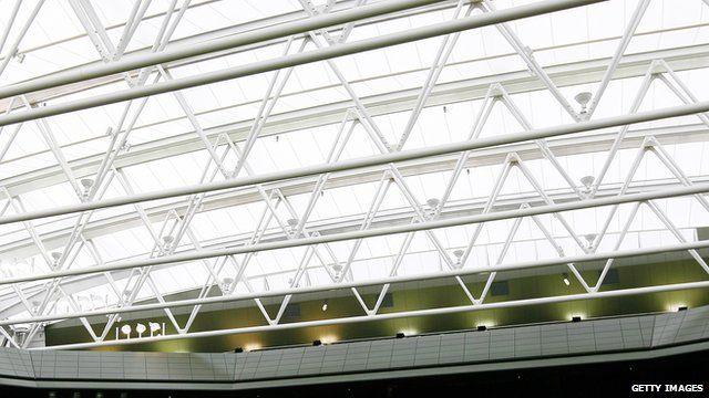retractable roof at Wimbledon