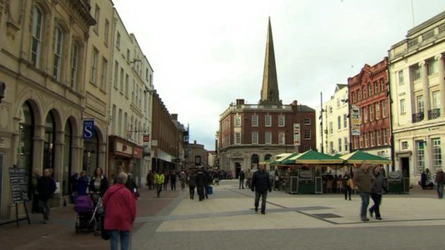 Town centre, Hereford