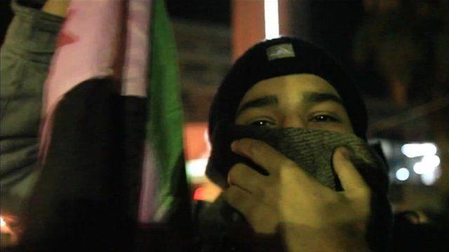 Activist in Douma