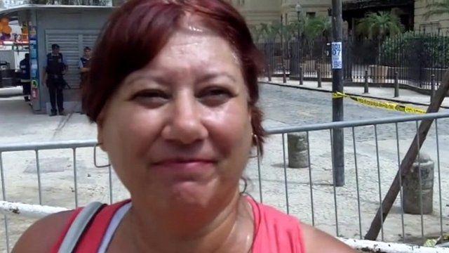 Businesswoman Rosangela Touson