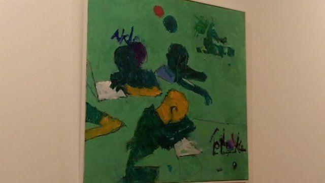 Nigerian art at Tiwani Contemporary