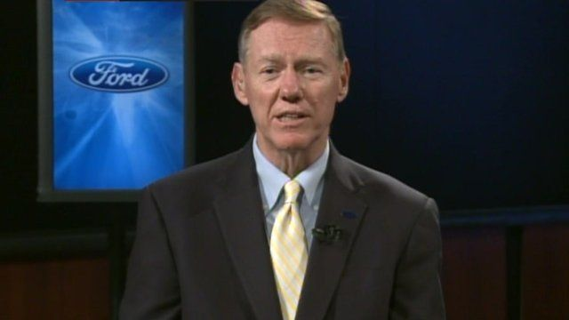President and Chief Executive of Ford, Alan Mulally