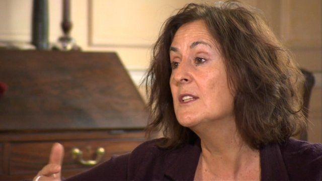 Author Gillian Slovo.