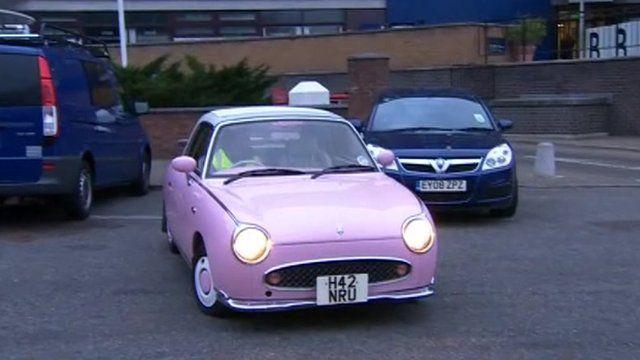 Car in car park