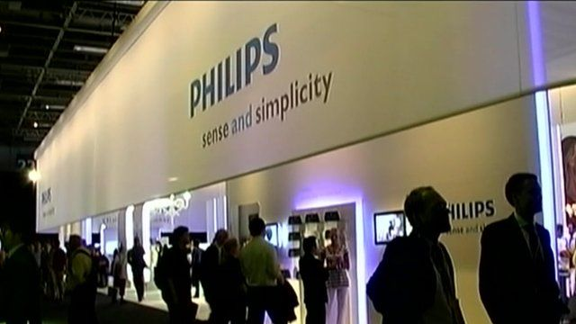 Philips electronics on show