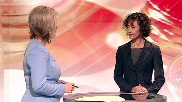 Ofwat's Regina Finn speaks to Breakfast presenter