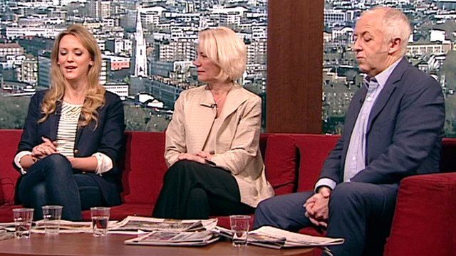 Clemency Burton-Hill, Sarah Baxter and Jeremy Bowen on The Andrew Marr Show