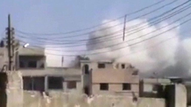 Homs building
