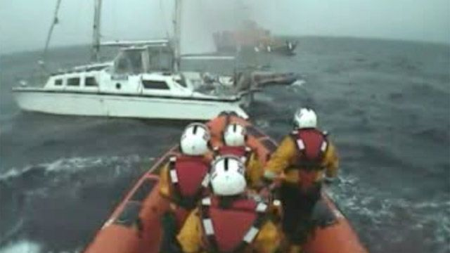 Lifeboat rescue