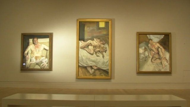 Works of Lucien Freud