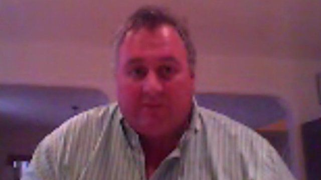 Roger Spink, of the Falkland Islands Chamber of Commerce
