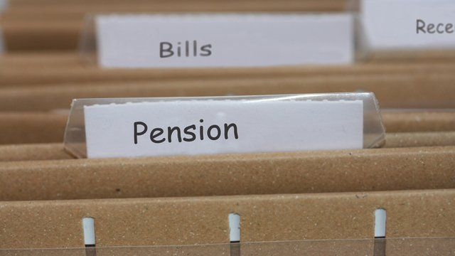 filing for pension documents
