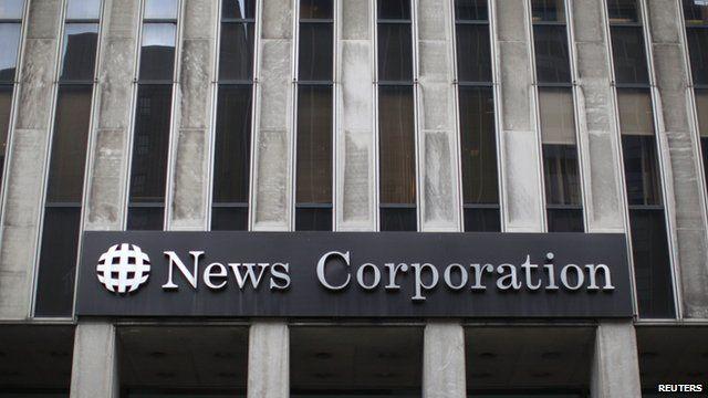 News Corporation headquarters in New York
