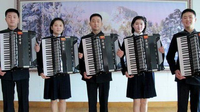 Image result for north korean musicians