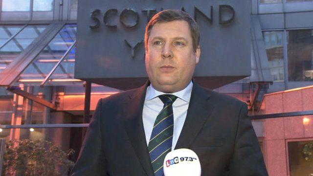 DAC Stuart Osborne, senior national coordinator of Scotland Yard's counter-terrorism team