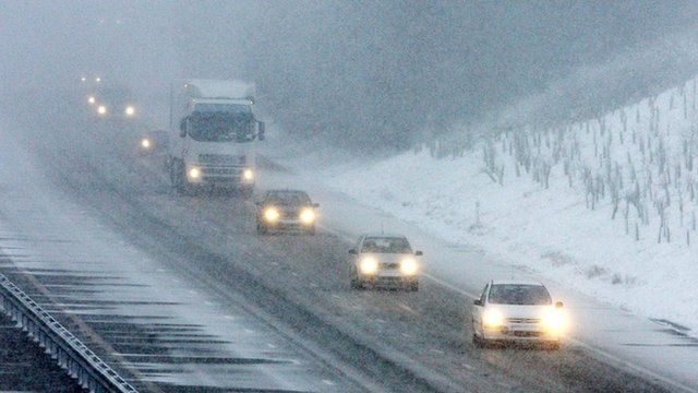 Drivers face dangerous conditions on icy roads