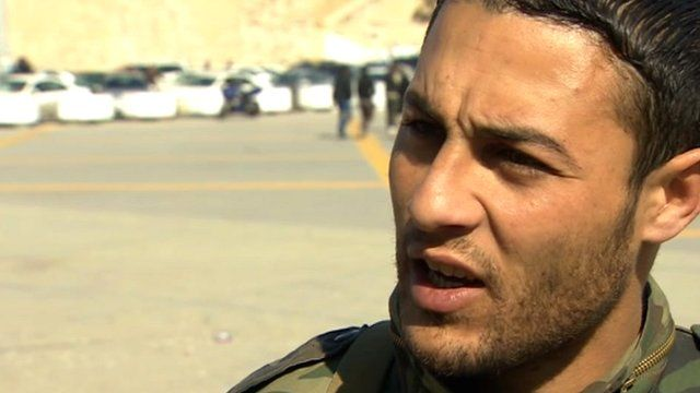 Libyan resident says he would support the Syrian people