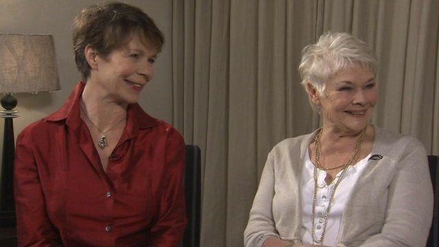 Dame Judi Dench and Celia Imrie