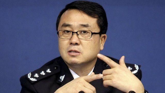 Chongqing city police chief Wang Lijun