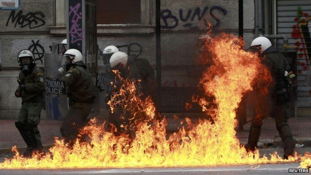 Unrest in Greece