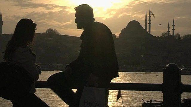 Turkish skyline