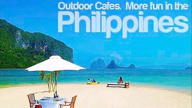A poster promoting the Philippines