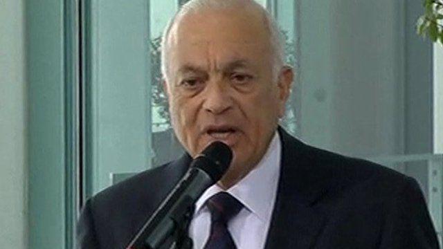 Arab League Secretary General Nabil al-Araby