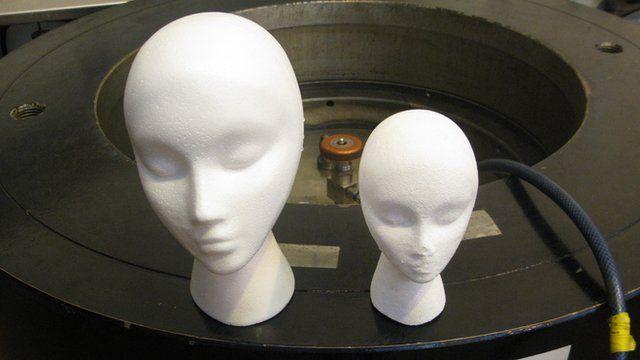 Polystyrene heads