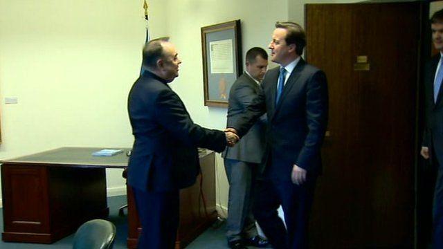 Alex Salmond and David Cameron