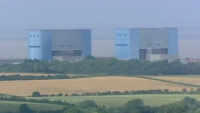 Power station in the north of England