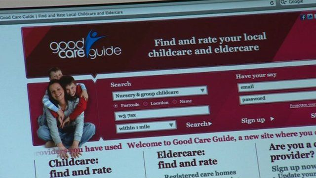 Good care guide home page