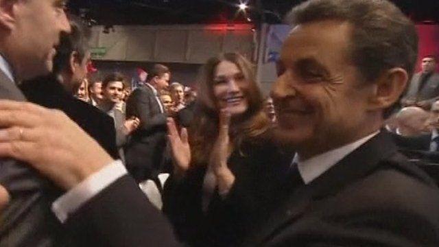 Carla Bruni and Nicolas Sarkozy