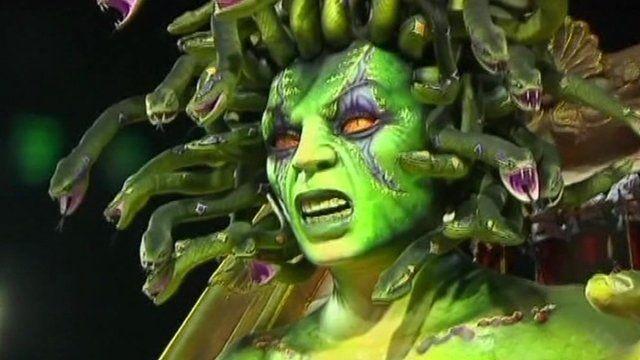 Medusa creature float